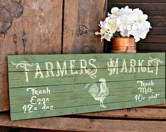 Farmers Market Vintage Wall Art Printable