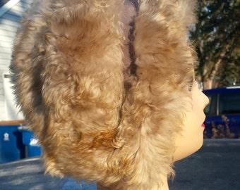 Retro Fur Woman's Winter Hat Handmade from Italy