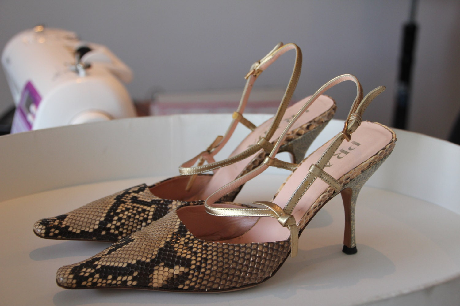 Vente Prada Prada Stiletto Vintage Shoes zzTxr