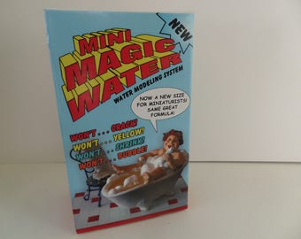 Magic Water for Dolls House and Railway Scenics