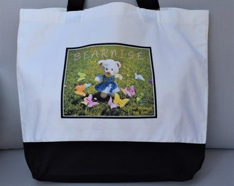 Bearnise Bear, Tote bag, Shopper
