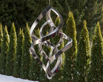 """Wind spinner, Double - Bold (50 cm / 19.7"""")"""