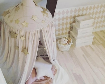 Bed - Crib Tent - Accent - Nursery - Kids Room