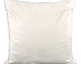 95/5, 75/25 Feather/down Inserts or Faux Down Pillow Inserts