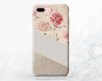 iPhone 8 Case iPhone X Case iPhone 7 Case Vintage Floral iPhone 7 Plus Case iPhone SE Case Tough Samsung S8 Plus Case Galaxy S8 Case V61