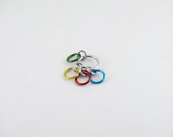 Rainbow Row Counter - 4 Rings