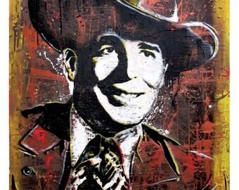 Bob Wills - Take Me Back to Tulsa - 12 x 18 High Quality Art Print