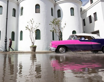 Havana Cuba Photography, Cuban Car, Havana Poster, Havana Cuba, Havana Print, Cuban Art Print, Classic Car Prints, Giclee Art, Cuba Poster