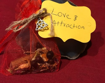 Love and attraction sachet