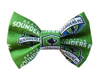 Seattle Sounders Dog + Cat Bow Tie