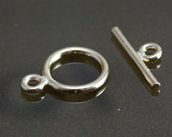 Gold Filled Toggle Clasp 10mm - Select Pack Size