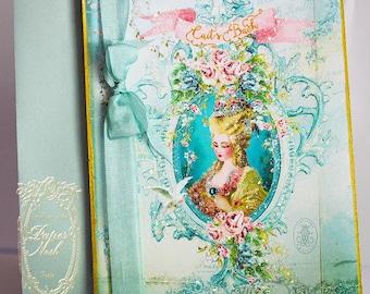 Marie Antoinette Invitations Musique of Enchantment with Gold Gilding Wedding, Shower, Bachelorette, Tea, Party, Event