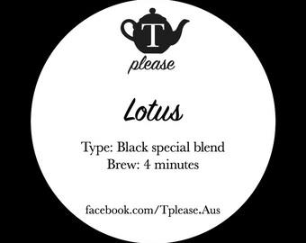 Lotus loose leaf tea