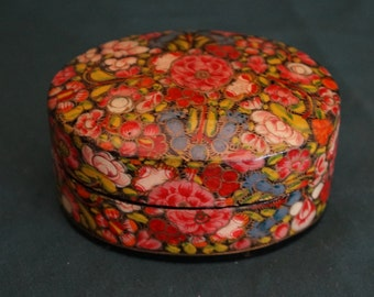 Chinese Paper mache Box - Kashmir Box