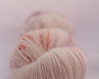 Hand-dyed yarn - sock yarn - superwash - merino - speckles - dyed-to-order - THE