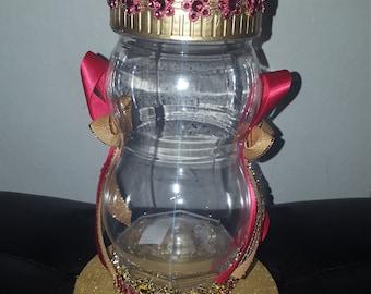 Baby Bottle centerpiece /caketopper  u choose colors