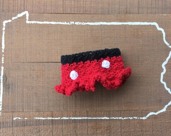 Minnie Mouse crochet cup cozy