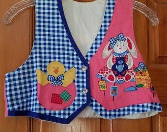 Children's Small Easter Vest