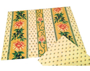 French Country Placemats, Sunflower Placemats and Napkins