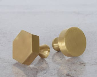 Gold door knob | Etsy
