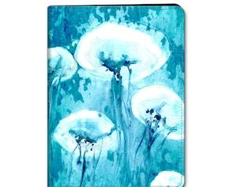 Jellyfish iPad Mini iPad Air Hard or Folio Case - Wildlife Ocean Art - Designer Device Cover
