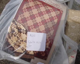 quilt kit choc covered cherries
