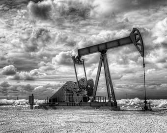 An Old Oil Pump