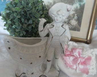 Vintage Bisque porcelain LCV subject *.