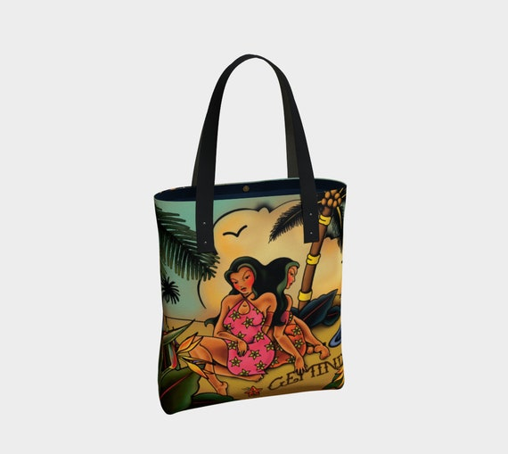 Gemini - Tattoo Premium Tote Bag