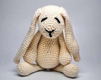 Crochet Stuffed Animal Bunny -  Stuffed Bunny Crochet Animal - Handmade Bunny Stuffed Animal - Stuffed Rabbit - Baby Gift- Easter Gift