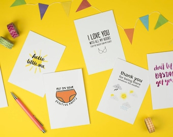 Mix and match - any 5 Hello Treacle greetings cards