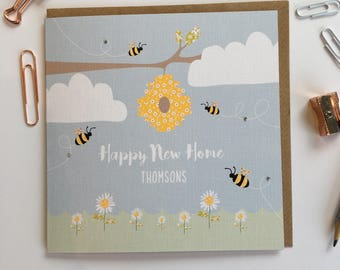New home - bee hive