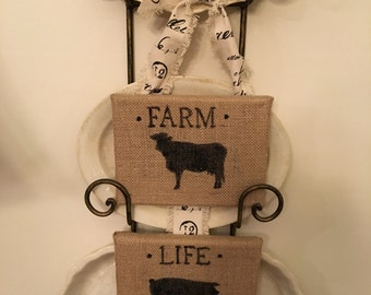 Farm Life wall hanging