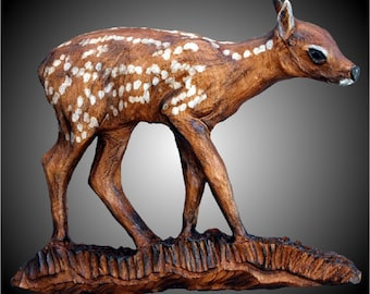 Fawn Wall Sculpture