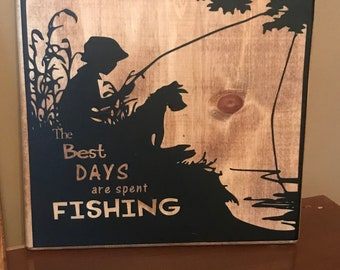 The best days fishing