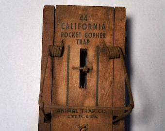 California Pocket Gopher Trap