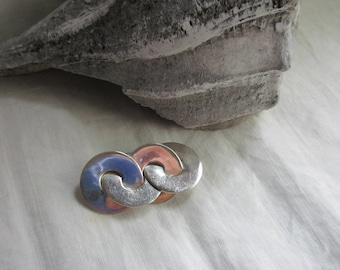 Vintage Mexican Sterling Brooch