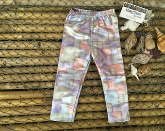 12 month metallic boxes print spandex pants, kids clothes, baby items, leggings, toddler bottoms