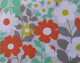 1/2 Yard Cotton Quilting Fabric - Michael Miller Hank and Clementine, Abigail large floral