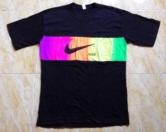 Rare Nike Multiple Colour Tee Tshirt