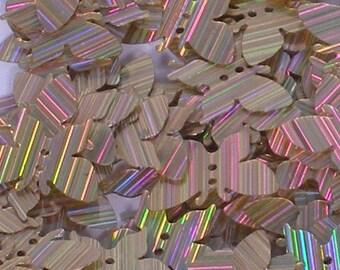 100 sequins BUTTERFLY.......LIGHT PINK /KBIS163