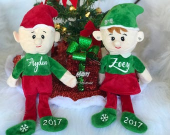 Personalized Christmas Elf, Christmas Elf, Elves