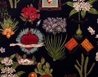 Alexander Henry - Viva Frida - #1406CRR - Black