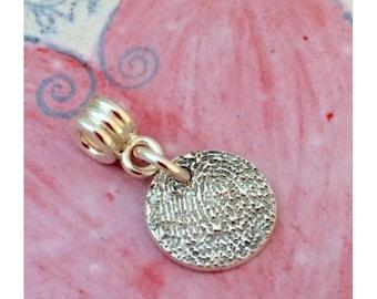 Fingerprint Charm for Charm Bracelet eg Pandora