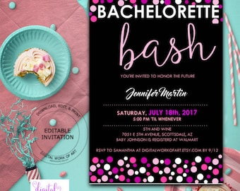 Printable bachelorette party invitation template printable bachelorette party invitation template bachelorette party invite bachelorette bash ladies night digital stopboris Image collections