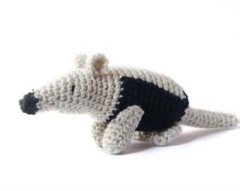 Amigurumi Pattern - Anteater Crochet