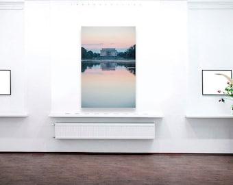 Lincoln Memorial, Washington DC Photography, Canvas Print, Paper Print, Washington DC Art, Home Decor, Office Decor