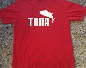 Vintage Tuna Puma Fishing Graphic XL Tee