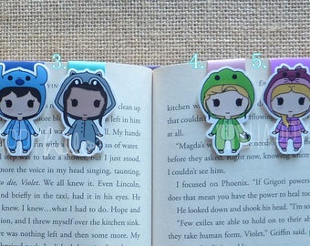 Magnetic Bookmarks • Onesies Party