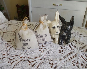 Dog Birthday Party Favor Bags